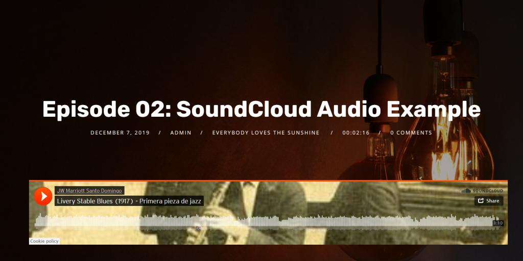audio embed