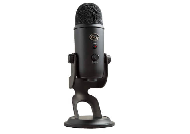 Blue Yeti Blackout microphone