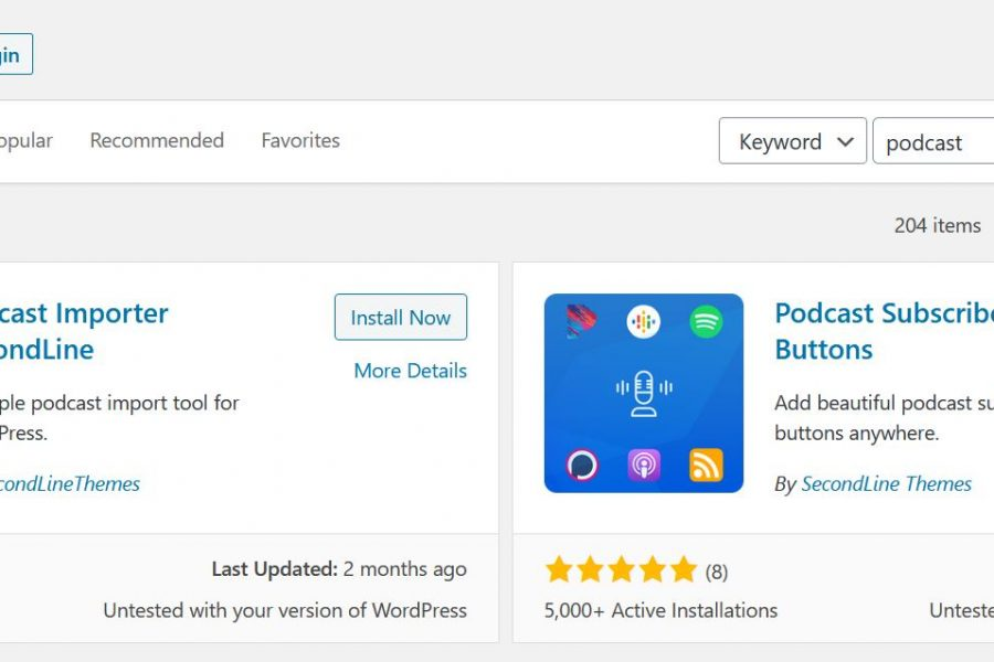 podcast plugins