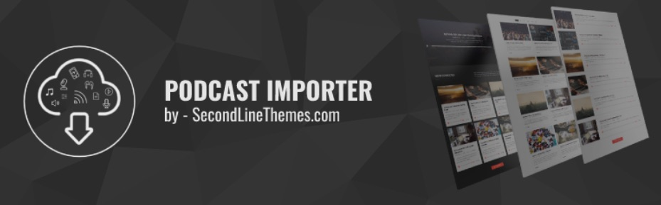The Podcast Importer plugin from SecondLine Themes.