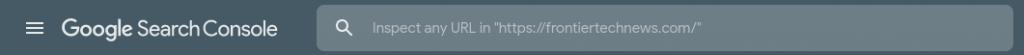 The Google URL Inspection Checker.