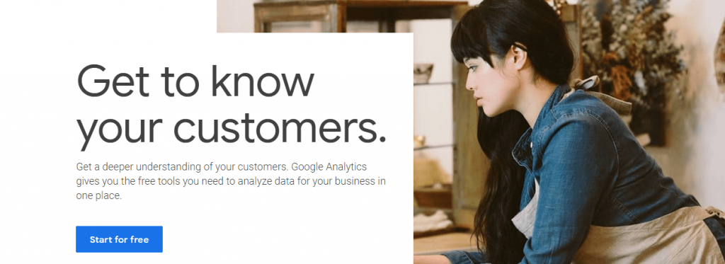 Google Analytics for discovering audience trends.